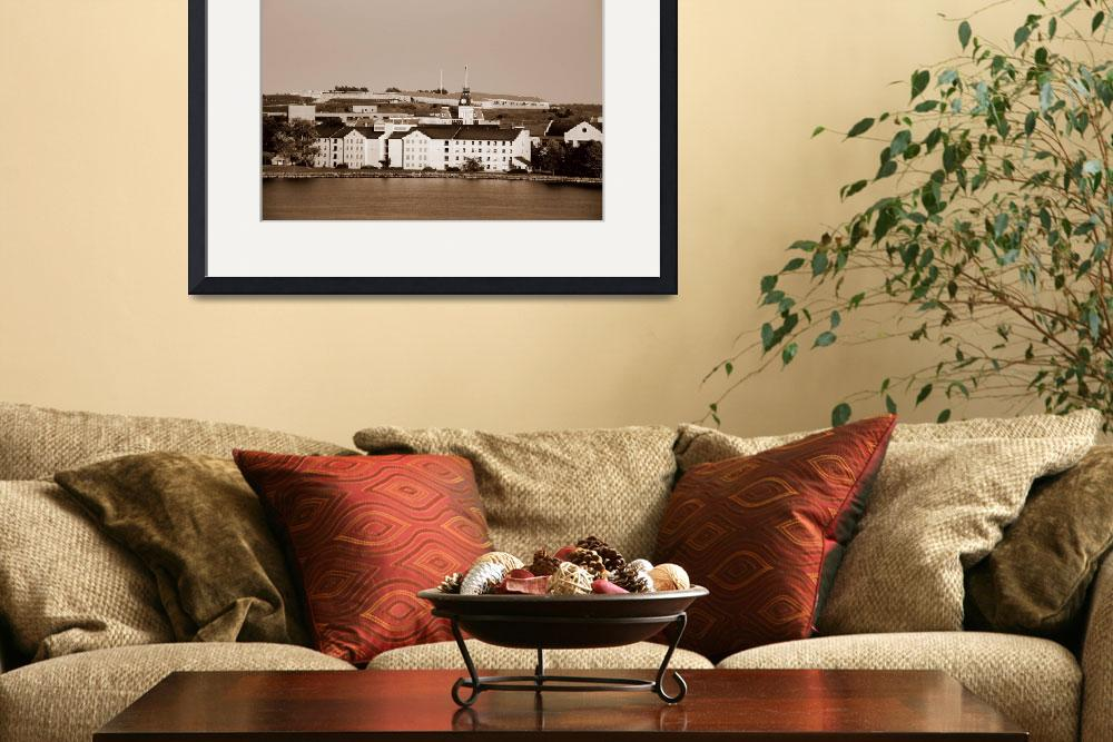 """""""Kingston Royal Military College & Fort Henry sepia&quot  (2008) by Kucci"""