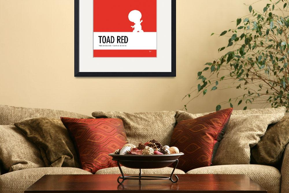 """""""No41 My Minimal Color Code poster Toad&quot  by Chungkong"""