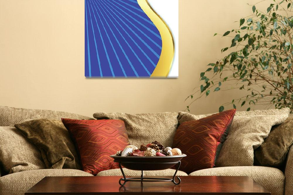 """""""wavy design abstract&quot  by robertosch"""