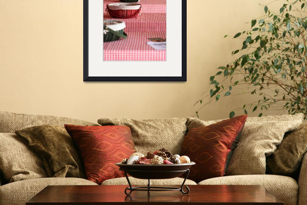 """""""Red Checker Cloth&quot  (2011) by kimmerhaw"""