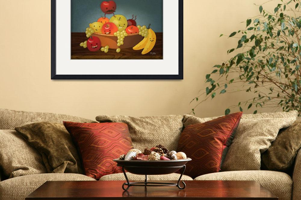 """""""Froot Bowl - Still Life&quot  (2009) by ph7labs"""