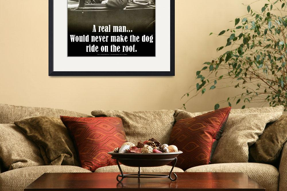 """""""A REAL man -- FDR and his dog&quot  (2012) by rchristophervest"""