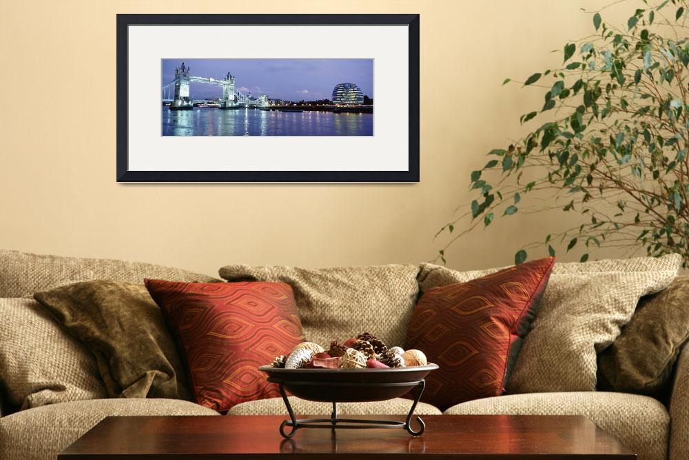 """""""Tower Bridge And The Greater London Authority Buil""""  by DesignPics"""