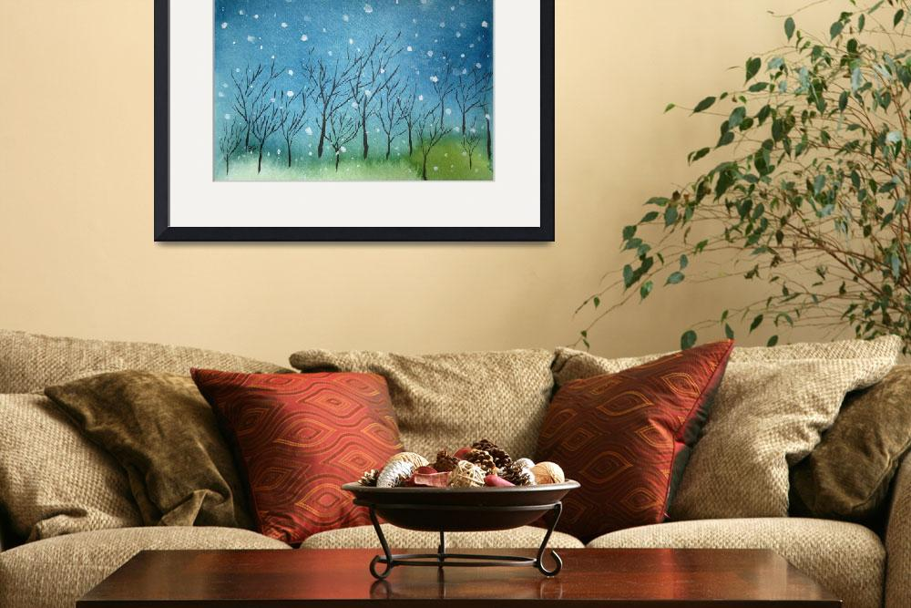 """""""First Snow&quot  (2011) by oystudio"""
