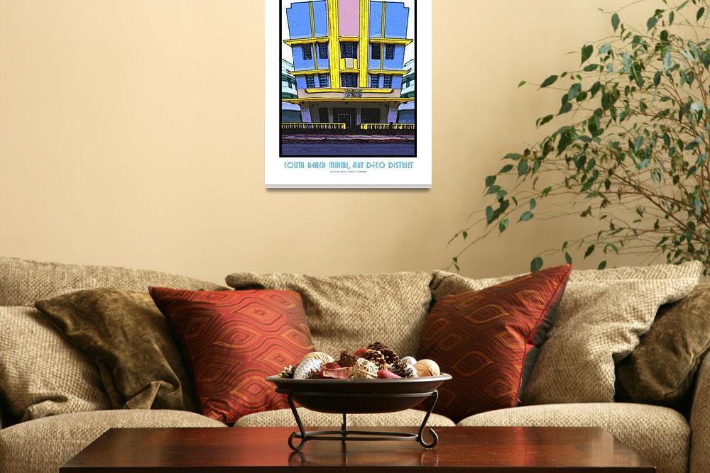 """Hotel Leslie, South Beach Miami, Art Deco District&quot  (2009) by Automotography"