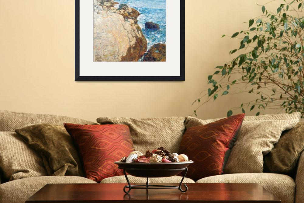"""""""The East Headland, Appledore - Isles of Shoals by&quot  by fineartmasters"""
