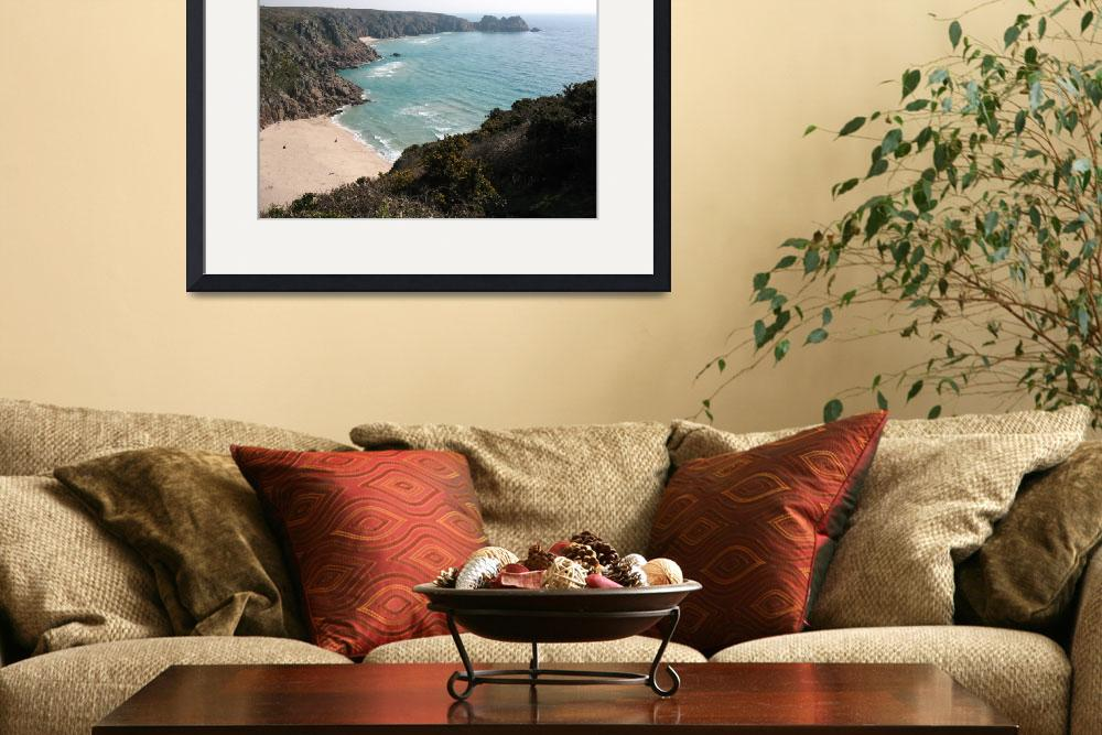 """""""Porthcurno, Cornwall (5869)&quot  (2010) by poddys"""