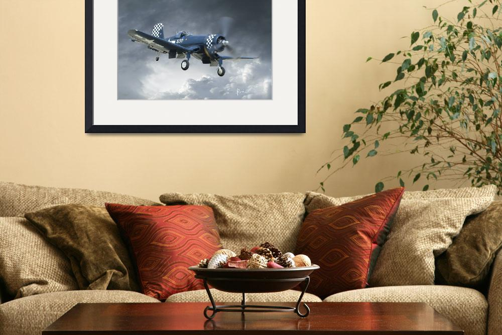 """F4U Corsair Approach&quot  (2011) by Need4Speed"