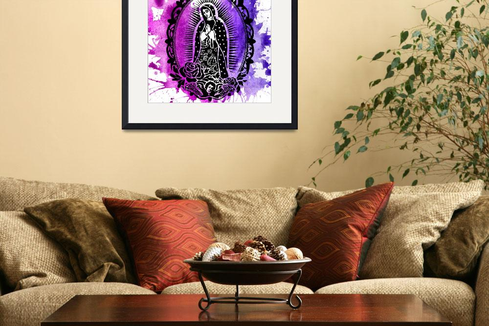 """""""Our Lady of Guadalupe""""  by angeldamico"""