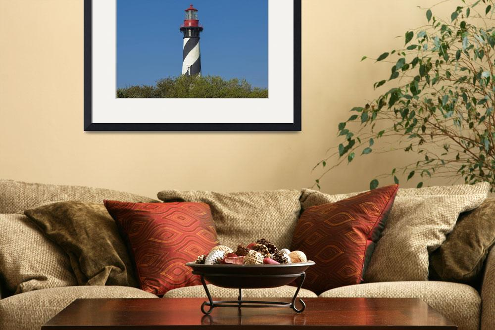 """IMG_3672 St. Augustine Lighthouse 5x7&quot  (2017) by SeanAllenPhotography"