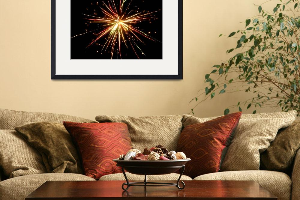 """fireworks 5""  (2009) by Lisajoy"