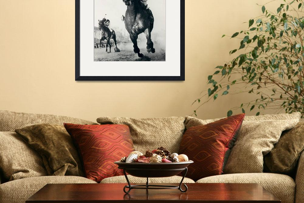 """Seabiscuit Horse Racing #3""  by RetroImagesArchive"