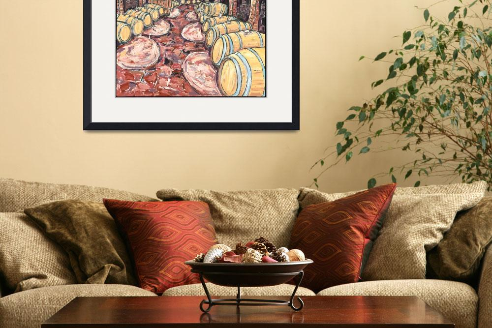 """""""Old Cellar at Pira""""  by cellarpaintings"""
