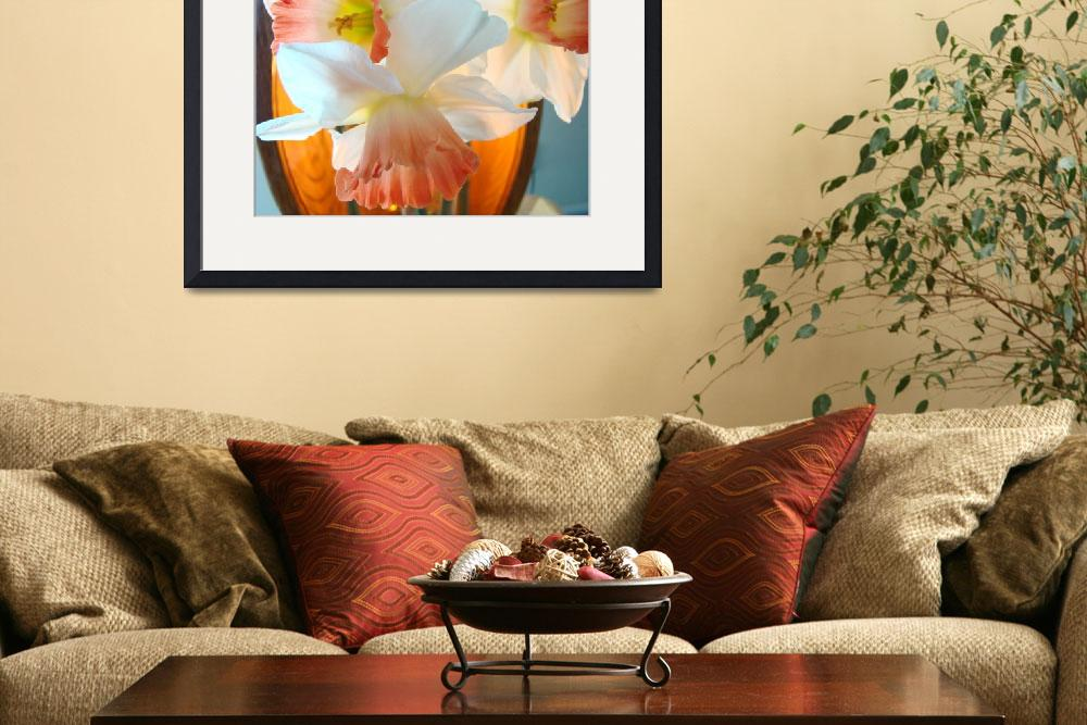 """""""OFFICE ART Prints NARCISSUS Flower Baslee&quot  (2009) by BasleeTroutman"""
