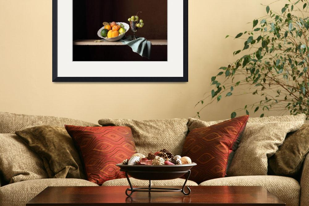 """""""Late summer fruits&quot  (2012) by ceciliagilabert"""