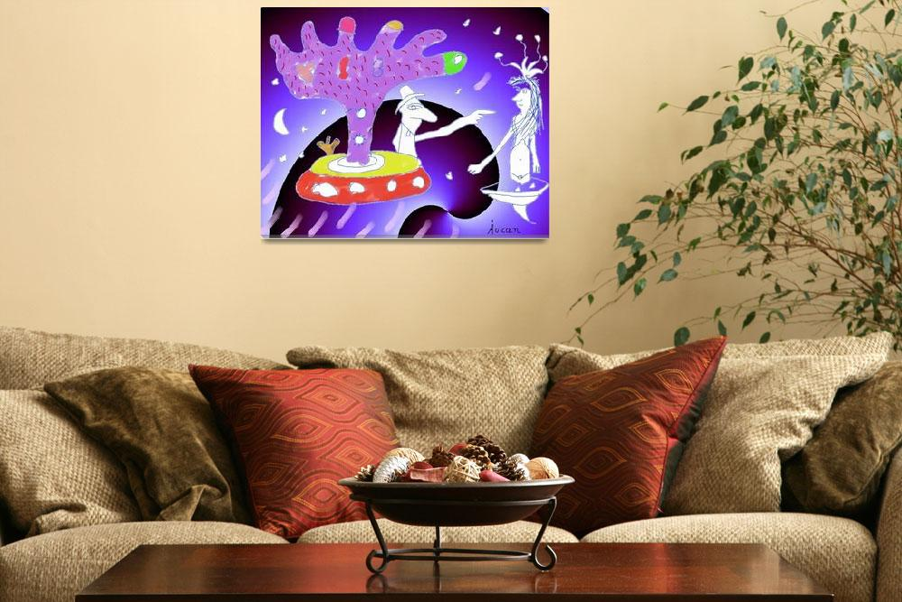 """""""""""Under the tree""""-Children Colorful Fantasy Stories""""  by Arran"""