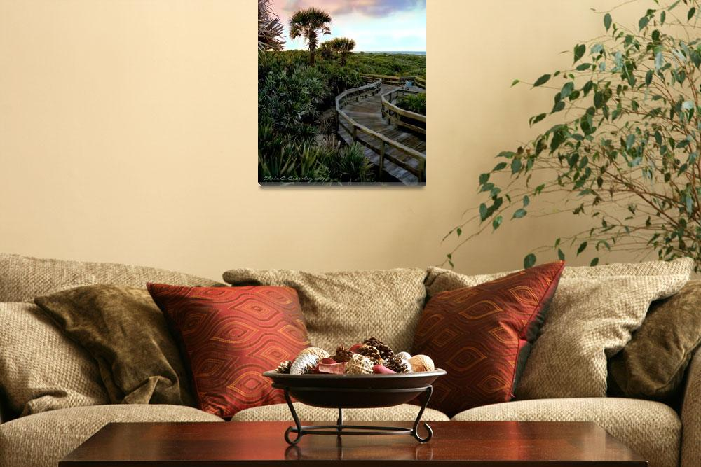 """""""Scenic Walkway&quot  (2009) by ChrisCrowley"""