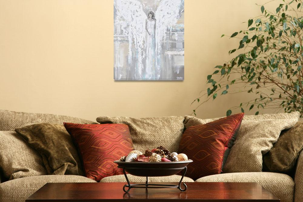 """""""""""Angel of Love"""" Angel Painting""""  by ChristineBell"""