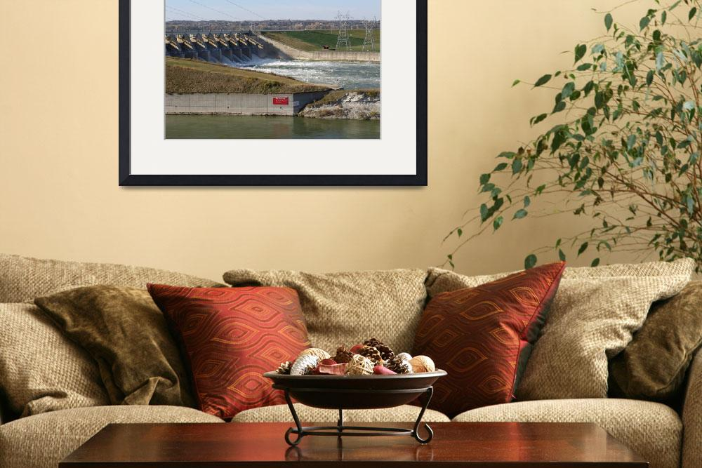 """""""Gavins Point Dam Downstream Discharge&quot  (2011) by TheElectricOrphanage"""
