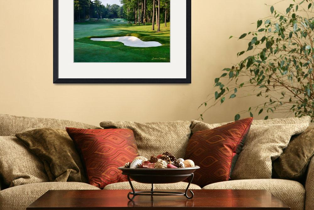 """""""The 6th at Woodlands&quot  (2009) by GordieSea"""