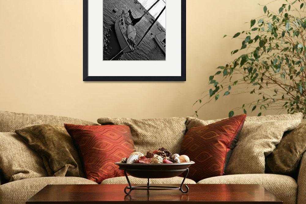 """""""B & W Sailboats""""  by ideaproductions"""