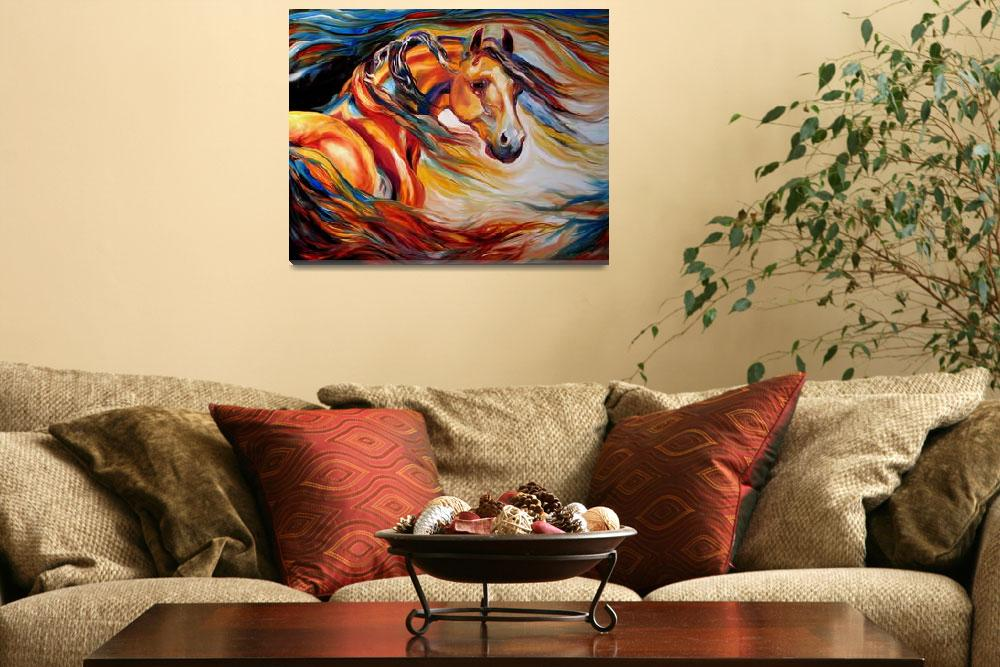 """THUNDER WIND&quot  by MBaldwinFineArt2006"