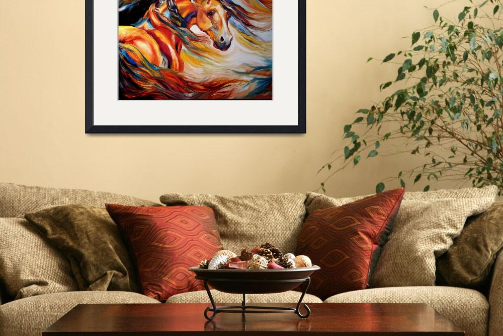 """""""THUNDER WIND&quot  by MBaldwinFineArt2006"""