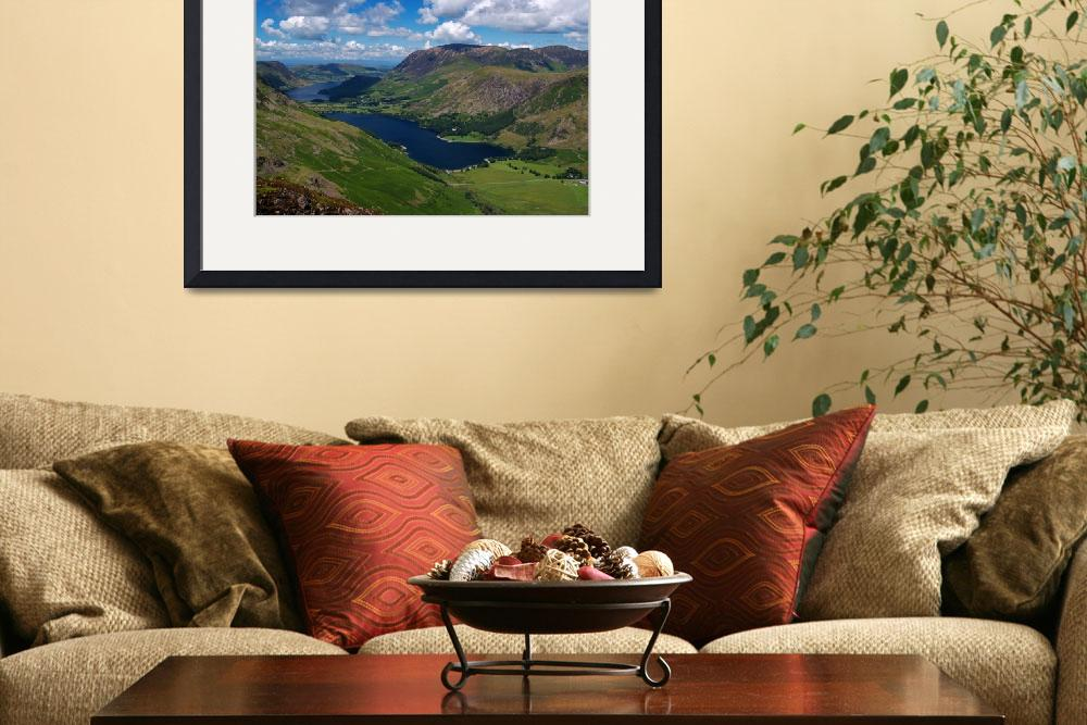 """""""Buttermere & Crummock Water&quot  (2008) by roger"""