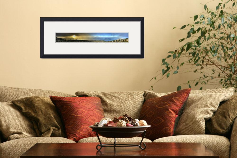 """""""Panoramic Scarfell viewing over Wasdale - HDR Pano&quot  by MOG"""