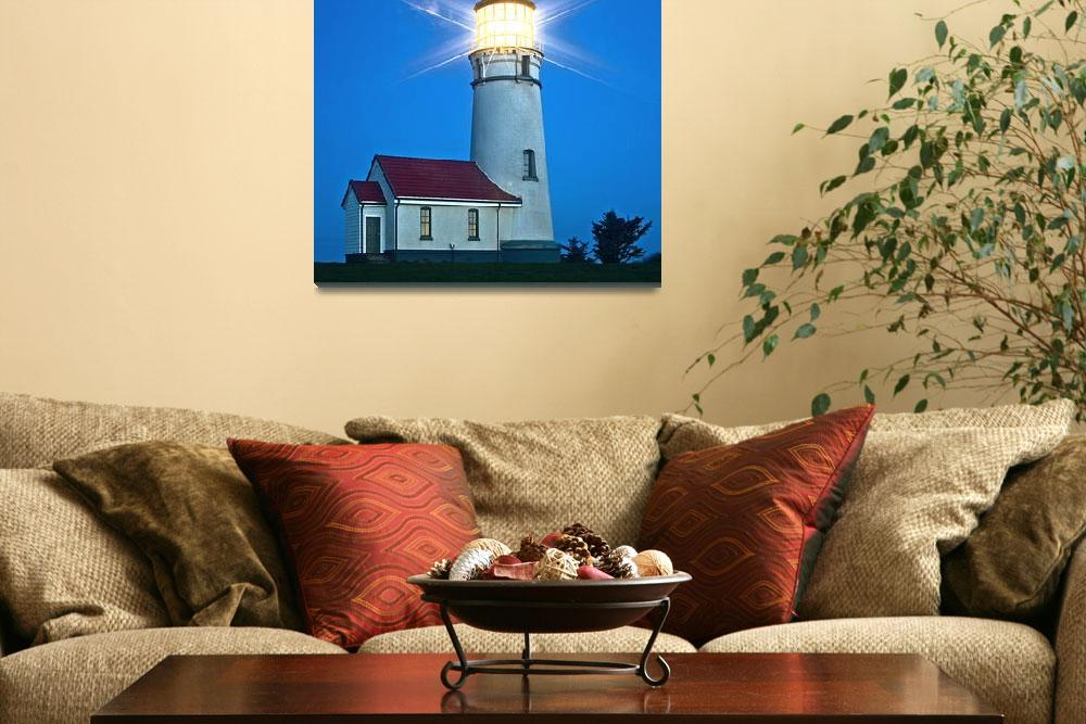 """Cape Blanco Lighthouse""  (2007) by aphimages"