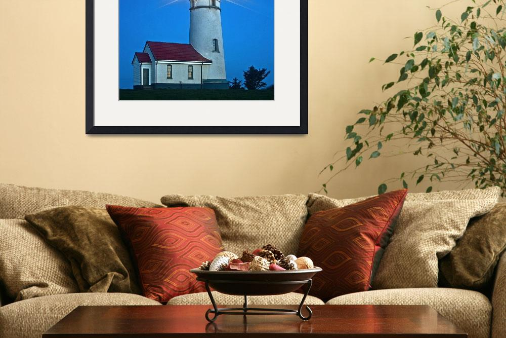 """""""Cape Blanco Lighthouse&quot  (2007) by aphimages"""