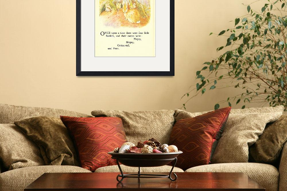 """""""CLASSIC PETER RABBIT ILLUSTRATION&quot  (1916) by homegear"""