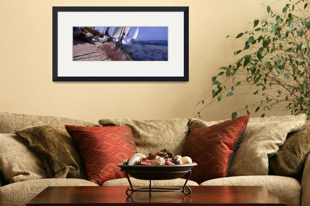 """""""Sailboats in the sea&quot  by Panoramic_Images"""