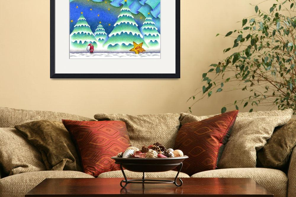 """""""Christmas picture - Christmas Eve in forest""""  (2009) by t-koni"""