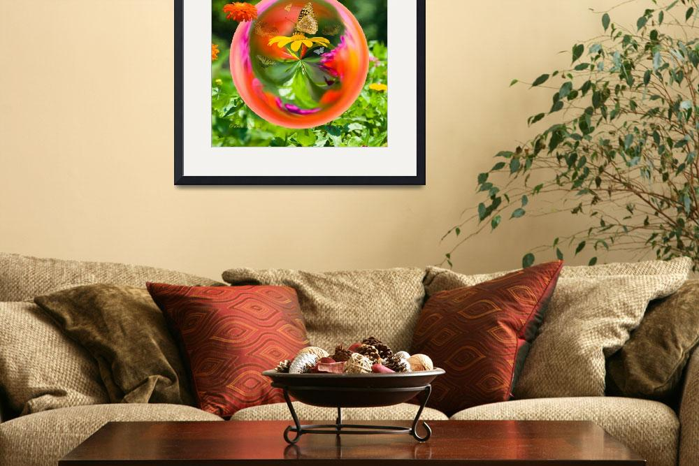 """""""Butterfly Globe""""  (2012) by tricia"""