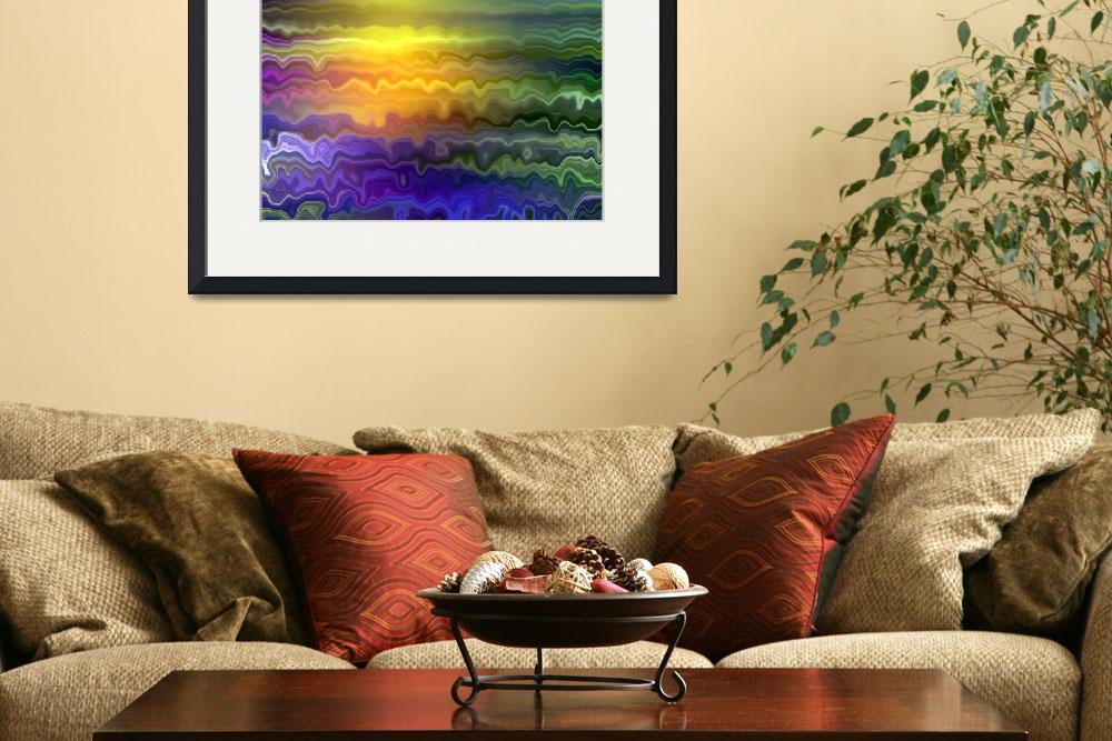 """Ocean Sunset by Angel Honey, 2010&quot  (2010) by AngelsCreativeWorks"