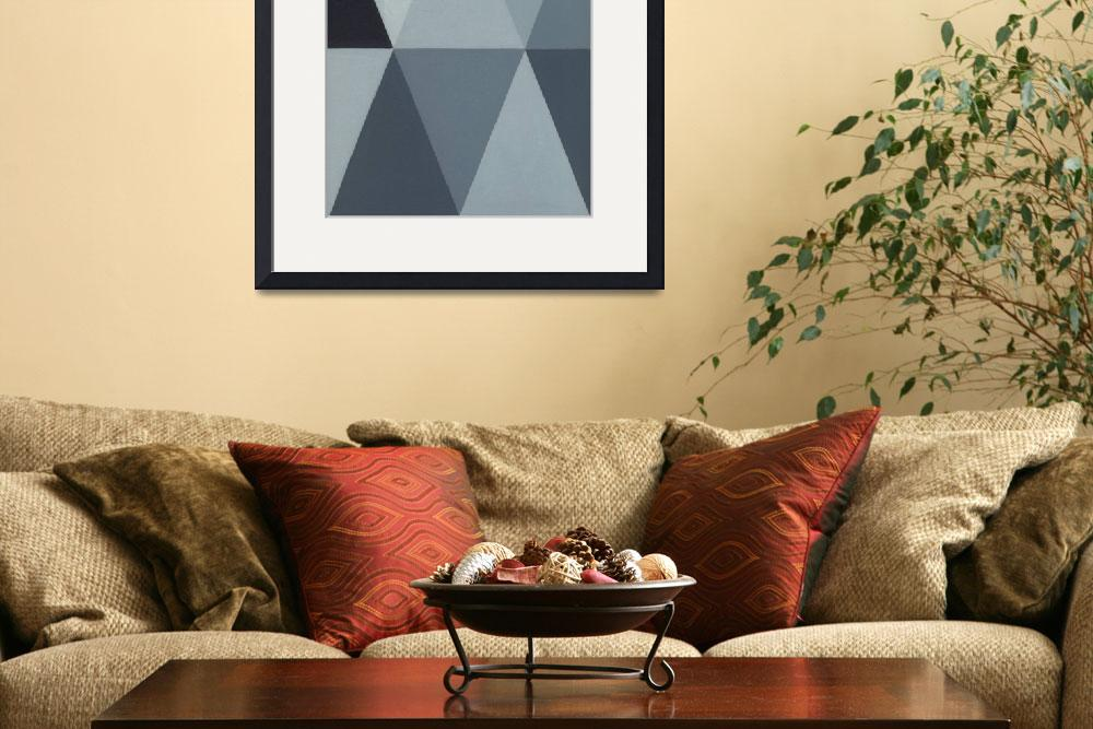 """Triangle Mini - Grey A2&quot  (2011) by adam-schreck"
