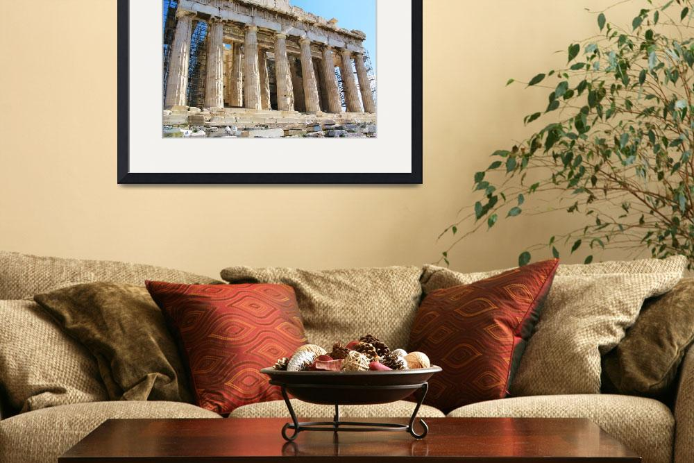 """The Parthenon - 5th century BC&quot  (2009) by arttraveler"