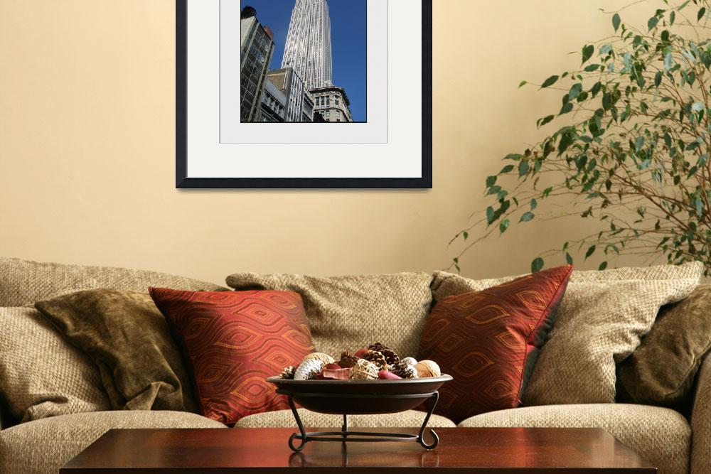 """""""Empire State Building Rising&quot  (2008) by CuriousEye"""