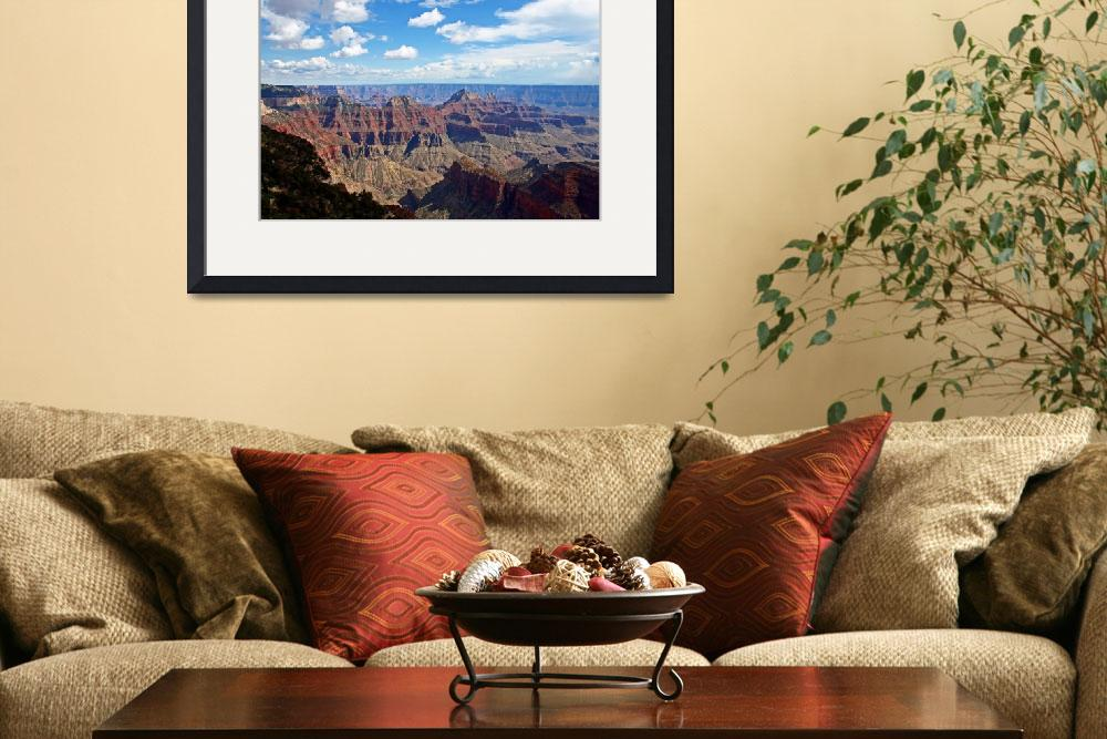"""""""Grand Canyon&quot  (2007) by Lorraine_Sommer"""