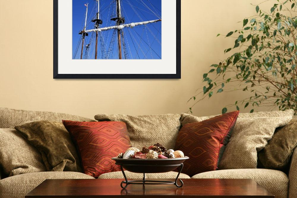 """Youth Climbs the Mast&quot  (2009) by WilshireImages"