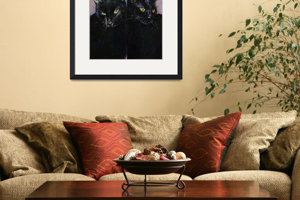 """""""Gothic Cats&quot  by creese"""