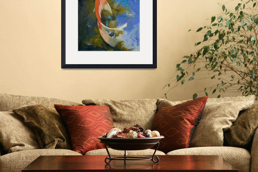 """Butterfly Koi Painting&quot  by creese"