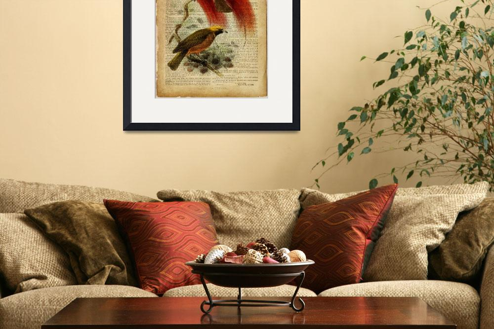 """""""birds of paradise""""  by Art_by_Lilia"""