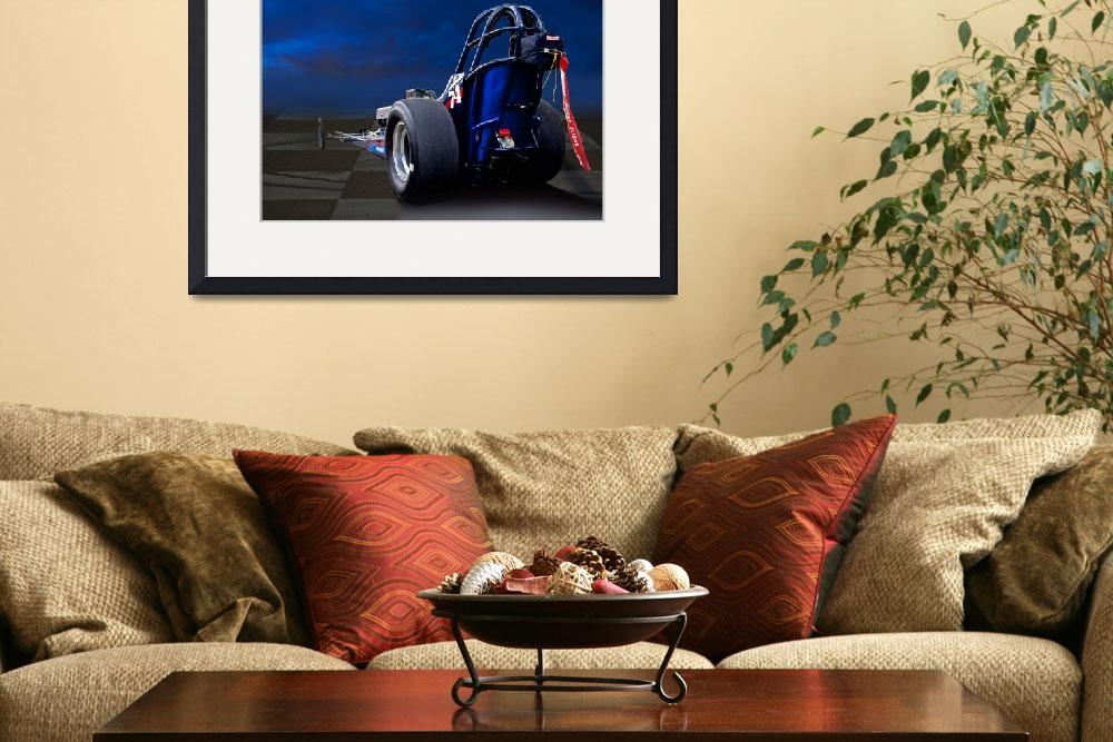 """""""Nostalgia Top Fuel Dragster 2&quot  by FatKatPhotography"""