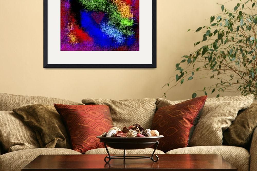 """""""Abstract Rainbow Valentine 3&quot  (2013) by TheNorthernTerritory"""