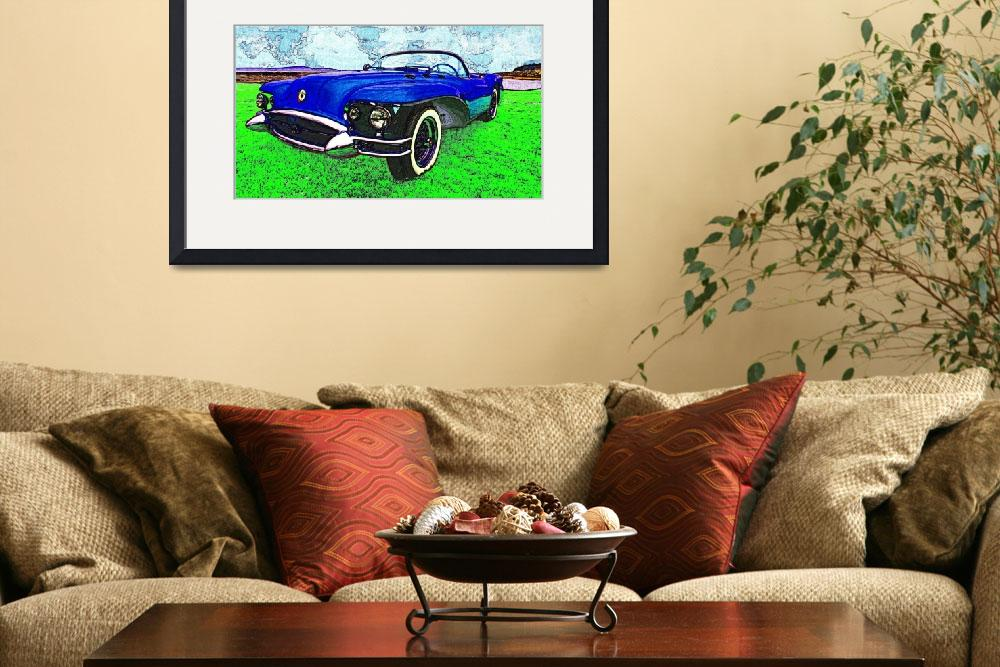 """""""1954 Buick Wildcat II&quot  (2008) by Automotography"""