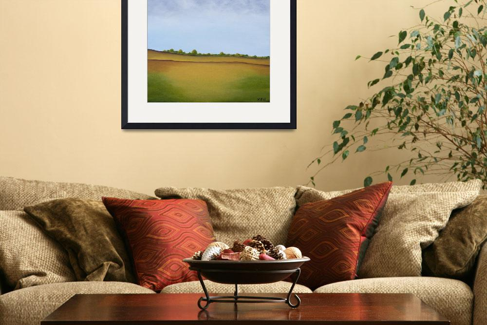 """""""Hill 2&quot  (2008) by QiQiGallery"""