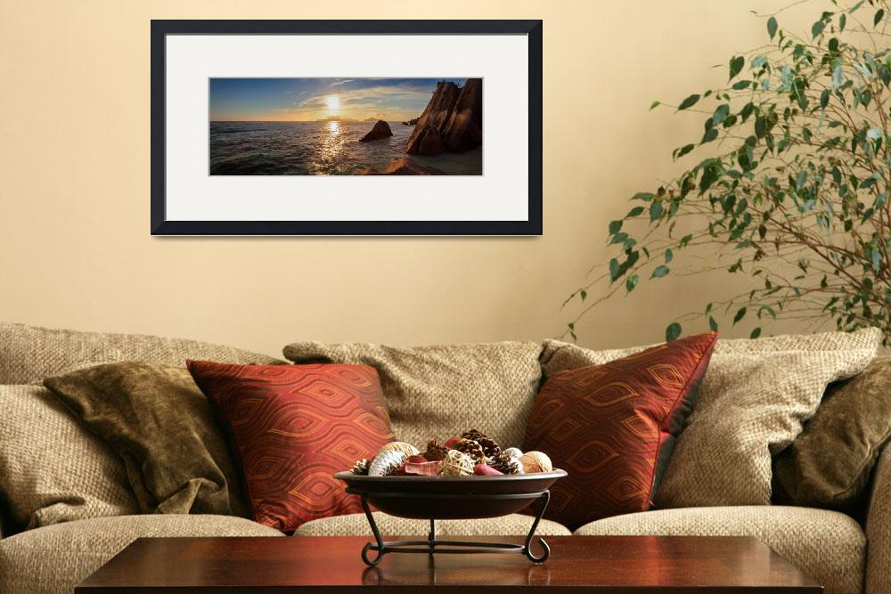 """""""Seychelles Panorama&quot  (2010) by photoplace"""