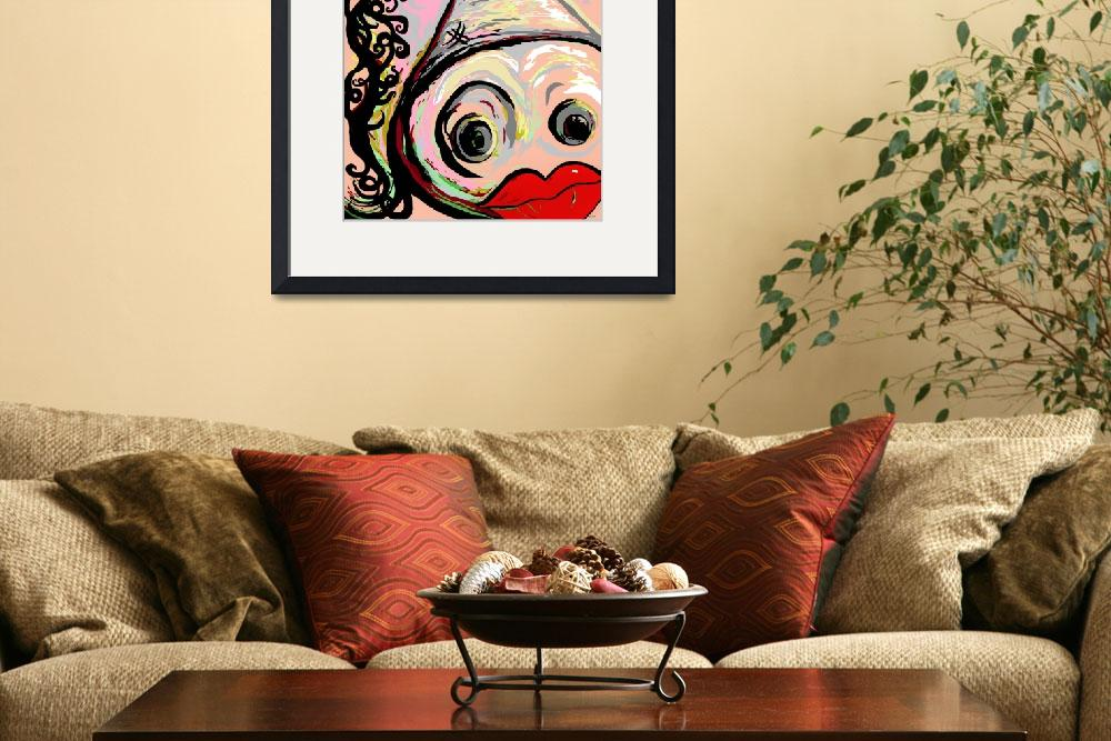 """""""Lipstick on a Pig&quot  (2013) by EloiseArt"""